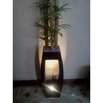 Lampara Decorativa Con Bambú Excelente Regalo