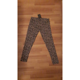 Calza Calzas Leggins Mujer Animal Print Leopardo De Lana !