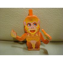 Brinquedo Coleção Miniatura Kinder Ovo Macaco K95 N54