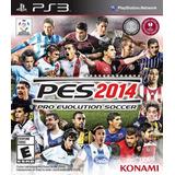 Pro Evolution Soccer 2014 Ps3 Nuevo De Fabrica Citygame