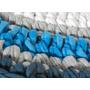 Alfombra Redonda Tejida Crochet - 70 Cm Diam
