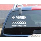 Sticker Vinil Se Vende Carro Moto Casa Delivery Gratis Lima