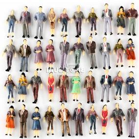 10 Miniaturas Figuras Bonecos Pessoas Maquetes Escala 1:50