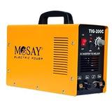 Soldadora Tig Y Arco Manual 200 Amperes Mosay Mod. Tig-200c