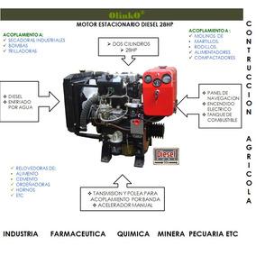 Motor Diesel 2 Cil. 28hp Olinko® Estacionario
