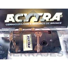 Cerradura Seg.doble Paleta Acytra 71-101