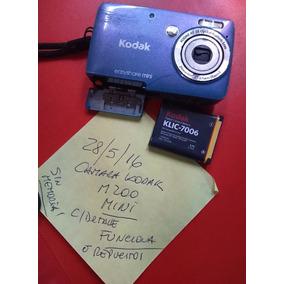 Camara Digital Kodak M200 Mini Funcionando O Para Repuestos