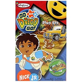 juego colorforms go diego go parque infantil
