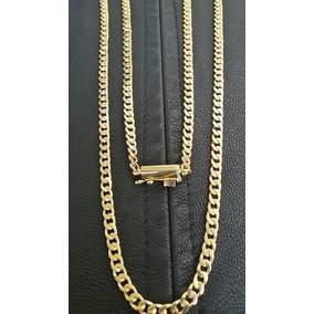 Cadena De Oro Amarillo 18k Modelo Grumet Peso 13 Grs