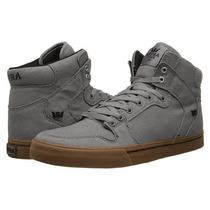Supra Vaider Zapatos Hombre Gris