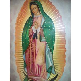 Pintura Oleo Virgen De Guadalupe (arte Profesional)