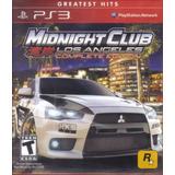 Midnight Club Los Angeles Complete Edition Ps3 Nuevo Citygam