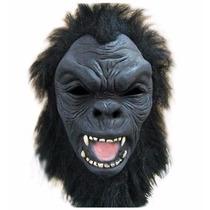 Máscara Cabeça De Gorila, Macaco - Fantasia, Halloween