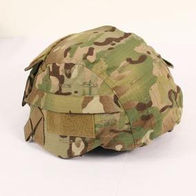 Capa Capacete Mich M88 Multicam C Bolsos Tam M/l Airsof Pb