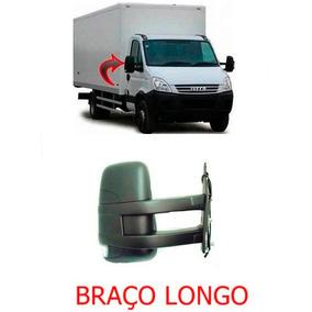 Retrovisor Iveco Daily Ld Ano 08 A 15 Braço Longo Manual