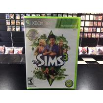 The Sims 3 Xbox 360 Original Midia Física Lacrado Novo Dvd