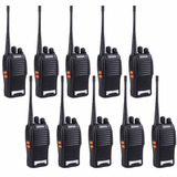 Kit 10 Radios Comunicador Walk Talk Baofeng 777s Frete Gratz