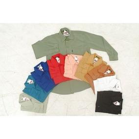 Camisa Social Infanto-juvenil - Tam 10 A 20