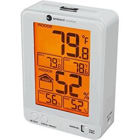 Tiempo Ambiente Ws W Temperatura Y Humedad Interior Monitor
