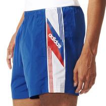Shorts Atletico De Futbol Retro Linear Hombre Adidas Aj7388