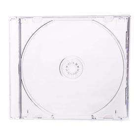 Estuches Acrilicos Gruesos Para Cd-dvd Transparente 50 Unid