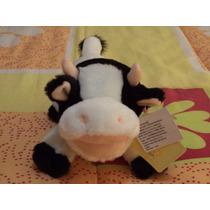 Hermosa Vaca Musical De Peluche Nuevo Etiquetado .