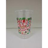 Copo Descartável Milk Shake 440ml Com Tampa 50 Un Oferta!!!