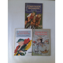 Livro Antigo Transa E Tramas Atual Editora Lote 3 Livros