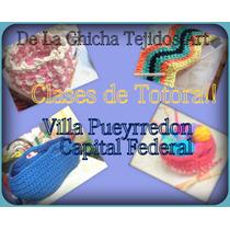 Clase De Totora Al Crochet !!!!!