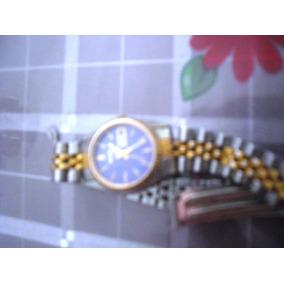 Reloj Dama Seiko Dorado Y Acero Oferta