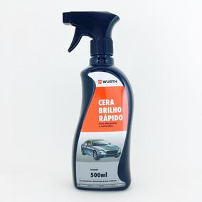 Cera Automotiva Liquida Spray - Cera Brilho Rápido Wurth