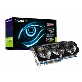 Placa De Vídeo Geforce Gtx 670 2gb Ddr5 256bits Gigabyte