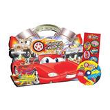 Livro Quebra-cabeca Super Carros Super Kit Completo