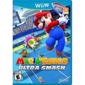 Videojuego Mario Tennis Ultra Smash Nintendo Wii U Gamer