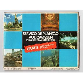 Memorabilia - Volkswagen - Serviço De Plantao - 1981