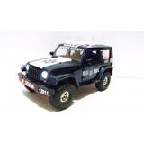 Jeep Patrulla Policia Federal Cns Esc. 1:24