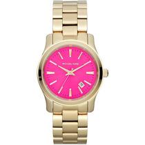 Relógio Michael Kors Mk5801 Dourado Lançamento 2014 Completo