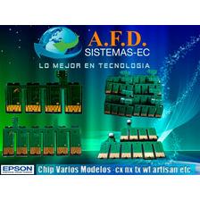 Chips Para Sistemas Epson Tx130/430/730nx Workforce Xp Y Mas