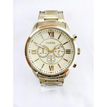 Relógio Fossil Bq1128 Cronograph Coleção 2017 Original