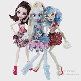 Monster High - Kit Com 03 Boneca Festa Petit Poá
