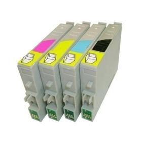 Kit Cartuchos Impressora T197 T196 Xp204 Xp214 Wf2532 Xp101