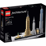 Lego Arquitectura New York City 21028 Juguete Nuevo Original