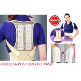 Corrector Postura Espalda Soporte Lumbar Ortopedico Faja