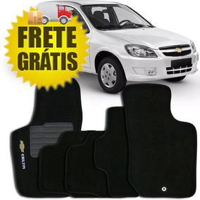 Tapete Carpete 5 Peças Celta Chevrolet 99 A 2015 Com Logo