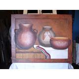 Cuadros Rústicos Vasijas Indigenas- Texturas-nuevo Precio