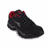 Zapatillas Reebok Aventura Cross City Lp Hombre Negro/rojo