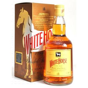 Whisky White Horse 1lt Escoces Cavalo Branco Origina Lacrado