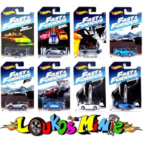 Hot Wheels Set Velozes Furiosos Fast Furious Walmart 2017