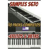 Samples S670 Com Mais De 20 Packs Atualizados