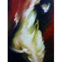 Desnudo Abstracto En Óleo.